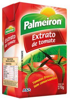 EXTRATO DE TOMATE PALMEIRON TETRA PAK 24x270g